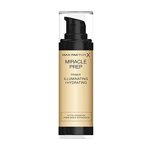 Max Factor Miracle Prep Illuminating & Hydrating Primer, Make-Up Basis, 30 ml