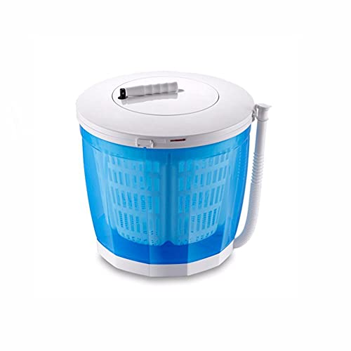 Mini Portable Washing Machine with Spin Dryer and Washer,2 in 1 Compact Twin Tub Hand Laundry Washing Machine for Home Office Travel Camping School Students Campers