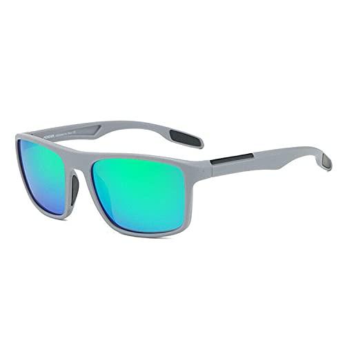KDEAM Square Polarized Sunglasses Men
