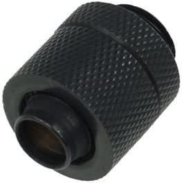 Alphacool 17078 HF 13/10 Compression Fitting G1/4 - deep Black Water Cooling Fittings