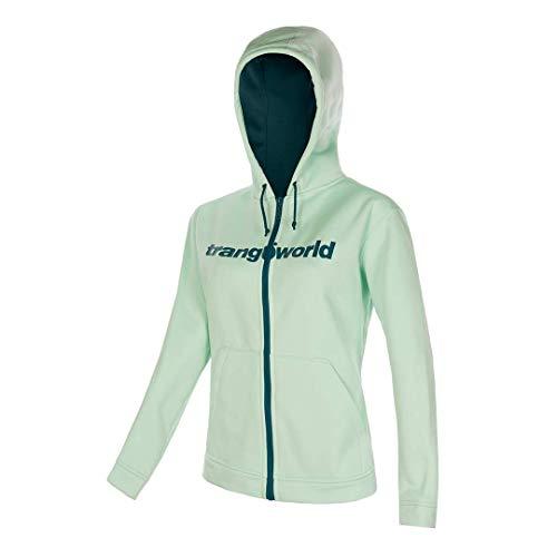 Trangoworld Liena Chaqueta, Mujer, Verde Claro/Verde, XL