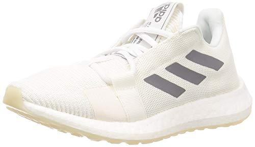 Adidas SENSEBOOST GO W, Zapatillas Running Mujer, Gris FTWR White Grey Three F17 Chalk White, 40 EU