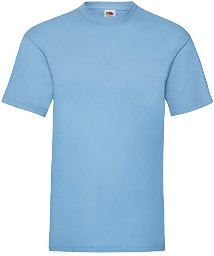 Fruit of the Loom - T-Shirt \'Valueweight T\' / Sky Blue, 3XL