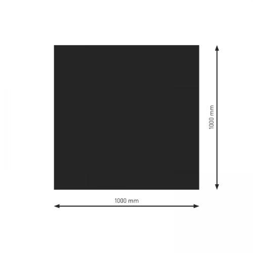 Schindler + Hofmann PU051-1B1-sw Bodenplatte B1 Rechteck/Quadrat schwarz pulverbeschichtet 1000 x 1000 mm