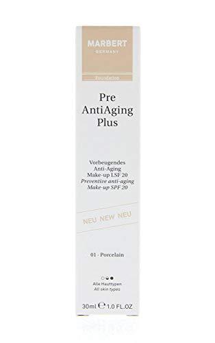 Marbert Pre-Anti-Aging Vorbeugendes Make-up, 01 Porcelain, 30 g