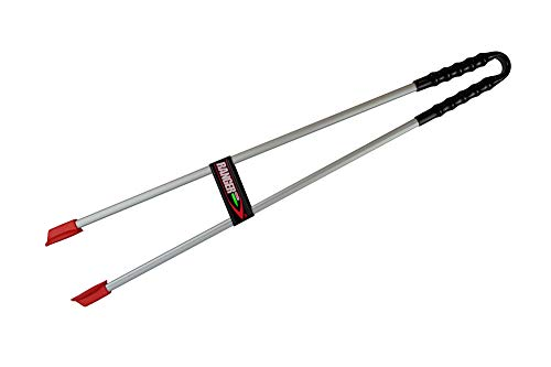 The Helping Hand Company Ranger MAX gerader Griff, rot/Silber, 35-Inch