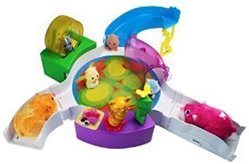 Zhu Zhu Babies Playset TinyTot Baby Gym Hamster Babies Not Included  by Cepia