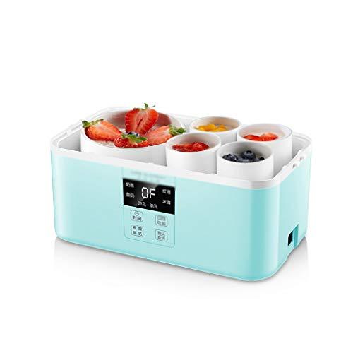 CLING Joghurtbereiter,15W,Rotwein/Reiswein/Natto/Käse/Griechischer Joghurt/Joghurt/Kimchi,Intelligentes Display