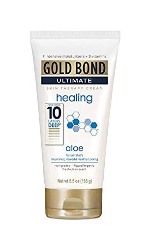 Gold Bond Ultimate Healing Skin Therapy Cream with Aloe - Fresh Clean - 5.5 oz - 2 pk