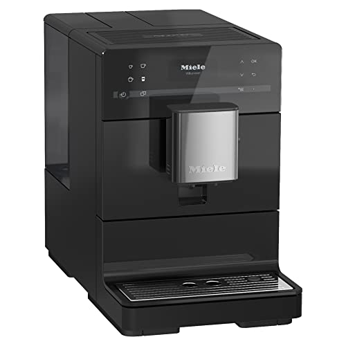 NEW Miele CM 5310 Silence Automatic Coffee Maker & Espresso Machine Combo, Obsidian Black - Grinder, Milk Frother