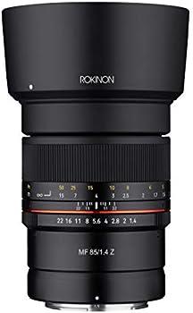 Rokinon 85mm F1.4 UMC Manual Focus Lens for Nikon Z