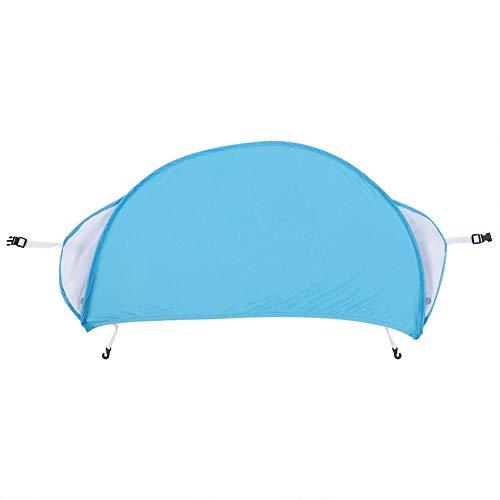lyrlody zonnescherm voor kinderwagens en buggy, zonwering voor kinderwagen, met pop-up-functie + uv-bescherming Blauw