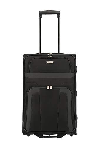Travelite Valigia Orlando, 63 cm, 62 litri, Nero, 98488