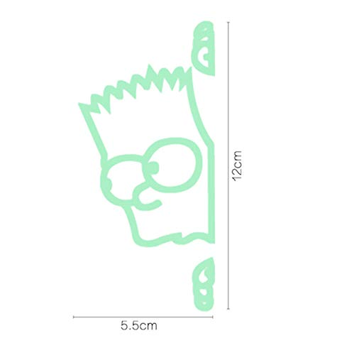 Notebook aufkleber Leuchtschalter Panel DIY Wandaufkleber nachtlicht Cartoon Schmetterling Wandbild im Dunkeln leuchten Wohnkultur Fluoreszierende Kunst 2 STÜCKE