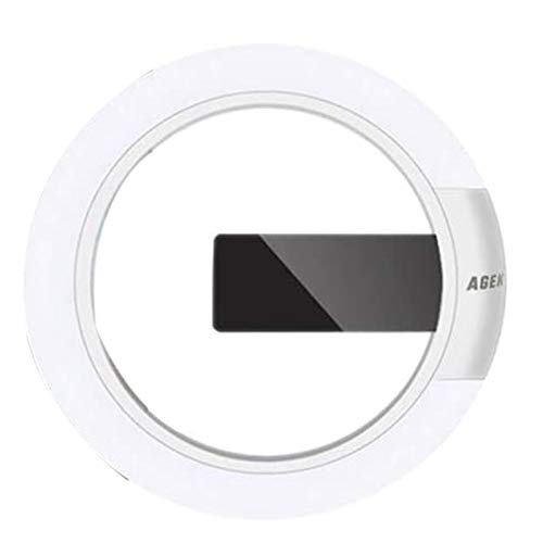 SODIAL Reloj de Pared LED, Reloj de Pared Digital con Control Remoto Reloj de Pared con Espejo LED Creativo con Alarma/Anillo de Temperatura