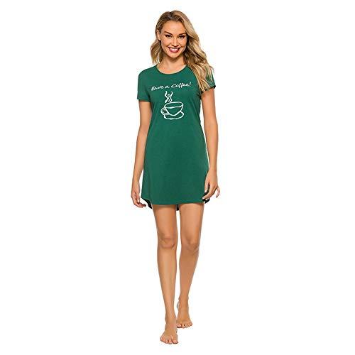 N\ A Damen-Schlafanzug, Cartoon-Motiv, große Größe, locker, lässig, bequem,...