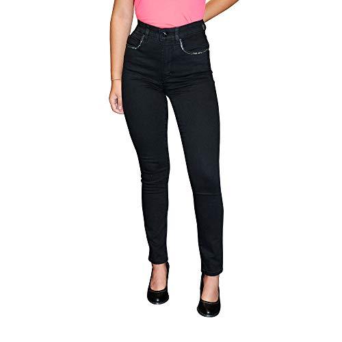 STOOKER Skinny Fit, Black Denim, D40/L28