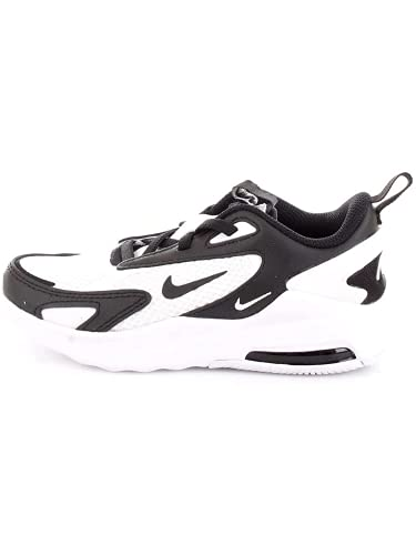 Nike Air MAX Bolt, Zapatillas de Running, Blanco, Negro y Blanco, 35 EU