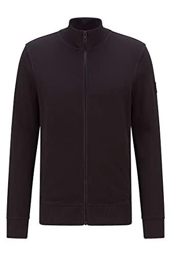 BOSS Herren Zkybox 1 Jersey-Jacke aus afrikanischer Baumwolle