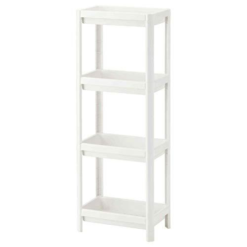 Nueva estantería Vesken, baño, cocina, oficina, sala de almacenamiento [4 niveles]
