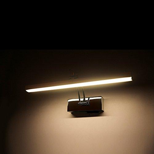 Solarl Badkamerlamp met spiegel LED spiegellamp badkamer moderne verlichting spiegelkast spiegel verlichting badkamer waterdichte mist L