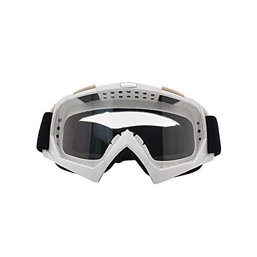 SUSHOU Gafas de motocicleta Gafas de bicicletas de suciedad Gafas de motocross Gafas a prueba de viento ATV ATV Gafas a prueba de polvo Gafas de seguridad Protectores Gafas de seguridad PU resina