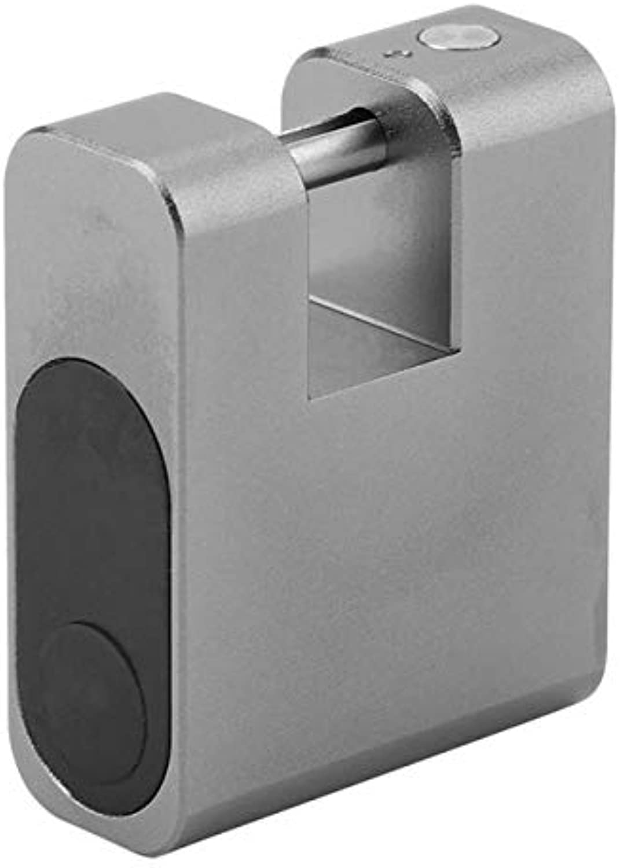Keyless AntiTheft Lock Wireless Smart Lock Padlock Mobile Phone blueetooth APP Control Backpacks Lock New Arrival  (color  Grey)