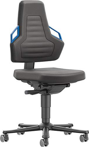 bimos Stuhl/Bürostuhl Nexxit 2 Rollen Supertec Griff blau