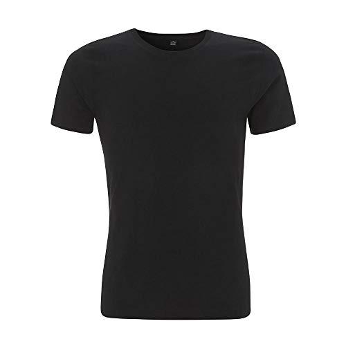 EarthPositive - Men's Slim Fit Jersey T-Shirt / Black, M