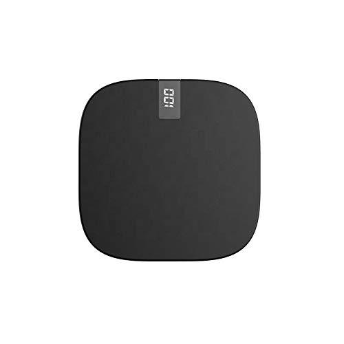 Generisch Powerbank - Batería externa (10000 mAh, pantalla LED, micro USB, Lightning), color negro