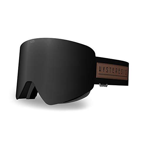 HYSTERESIS ILLICIT Magnet FOTOCROMÁTICO Black - Pack Gafas De Esquí con Lentes Magnéticas Intercambiambles (2 Lentes Incluidas)