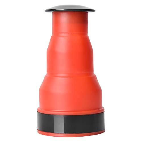 Jeffergarden Émbolo de Drenaje Manual Émbolo de Inodoro Manual de plástico Reutilizable Fuerza pequeña para Sacar la Suciedad del Drenaje Apto para Todo Tipo de desagües