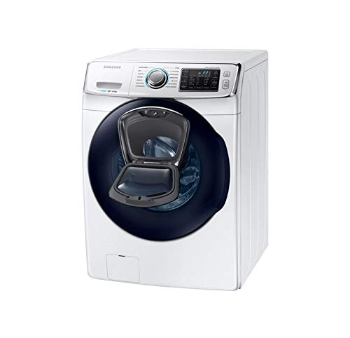 Lavadora – Samsung WF16J6500EW, 16 kg, Ecobubble, 1200 rpm, AddWash, A++, Blanco