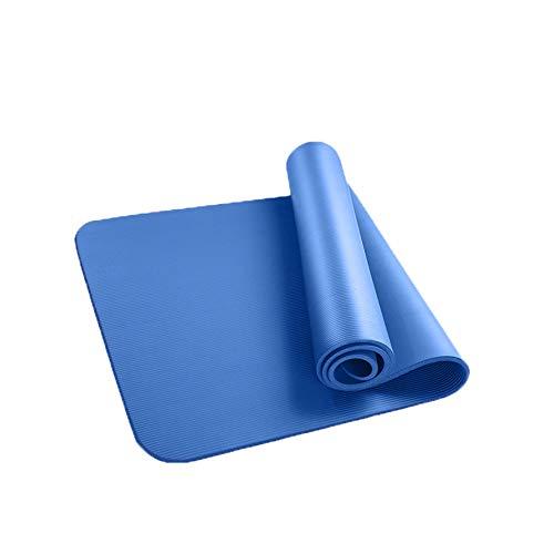 HOUMU Draagbare antislip en duurzame anti-vibratie yogamat, geurloze zachte en comfortabele trainingsmat fitnessmat, geschikt voor mannen en vrouwen met riemnetzak