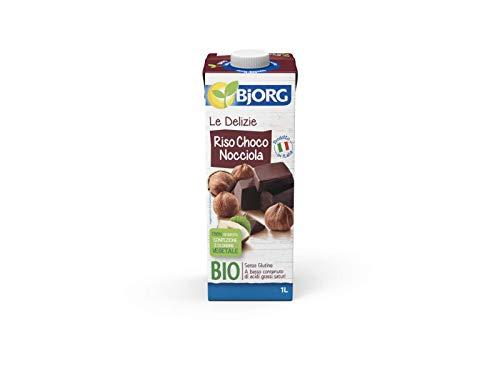 BJORG Riso Choco Nocciola Bevanda Vegetale Biologica 1L