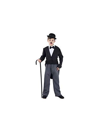 DISBACANAL Disfraz Charles Chaplin Infantil - -, 6 años