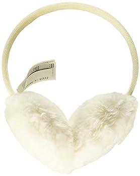 Amazon Essentials Women s Faux Fur Ear Muffs Ivory One Size
