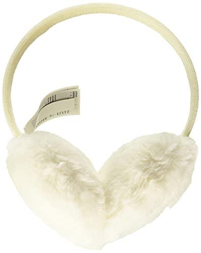 Amazon Essentials Women's Faux Fur Ear Muffs, Ivory, One Size