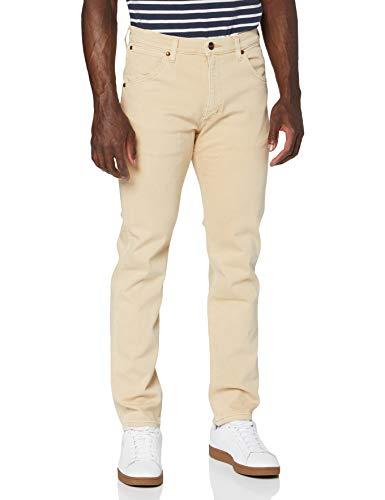 Wrangler Icons Jeans, Beige, 31W / 30L para Hombre