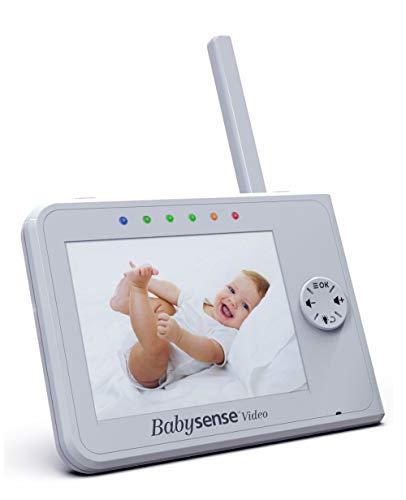 Babysense Elterneinheit für Video Baby Monitor V35 Weiß