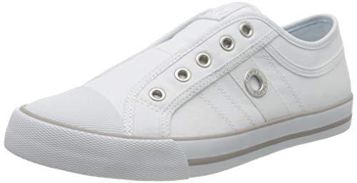 s.Oliver Damen 5-5-24635-24 Slip On Sneaker, Weiß (White 100), 40