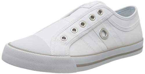 s.Oliver Damen 5-5-24635-24 Slip On Sneaker, Weiß (White 100), 41 EU