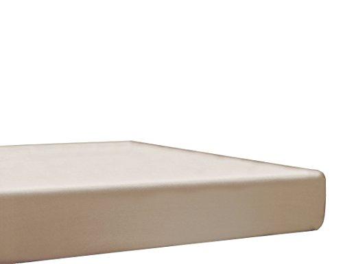 Blanc des Vosges Spannbetttuch, Baumwolle, Baumwolle, Hanf, 70x190 cm
