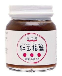 紅玉梅醤 番茶・生姜入り 130g ×7個                          JANコード:4931915000938