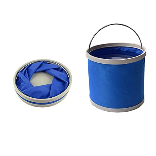 LUBINGT Cubeta Plegable El Cubo Plegable Impermeable es Conveniente Resistente al Desgaste Respetuoso con el Medio Ambiente