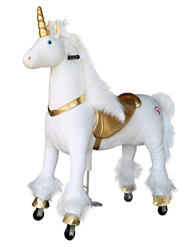 Find Discount Medallion - My Pony Ride On Real Walking Horse Unicorn for Children 10+ to Adults Or u...