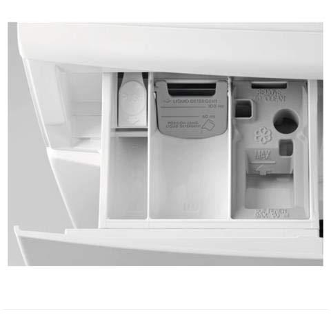 Electrolux EW2F68204F Waschmaschine, freistehend, Frontlader, 8 kg, 1200 U/min, A+++ – Waschmaschinen (freistehend, Frontlader, weiß, drehbar, Touchscreen, links, LCD) 2