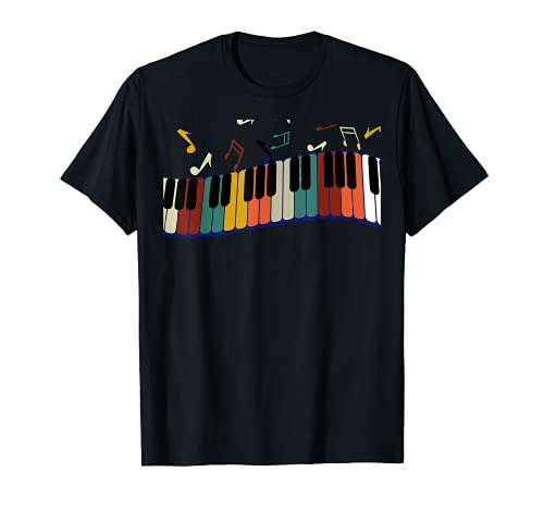 Piano Keyboard For Piano Player Keyboardist T-Shirt
