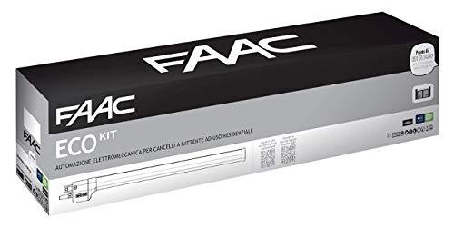 Faac Eco Kit Green - Automatización electromecánica con motor de 230 V...