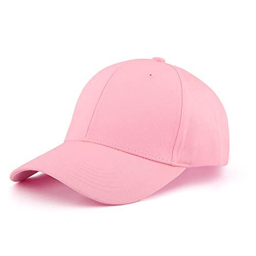 KELOYI Cappellino Donna con Visiera Cappello Estivo Cappelli Rosa Regolabile Cotone Berretto Baseball cap